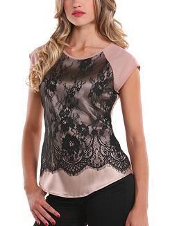 Lace Details Gbym Top