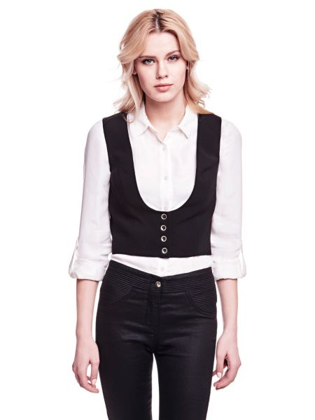 Gilet court marciano