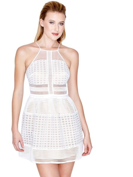 Robe travaillee marciano