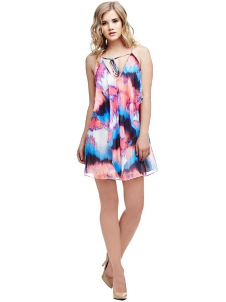 Robe marciano imprime abstrait