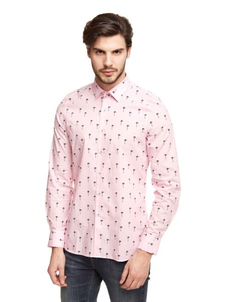 Chemise marciano palmiers