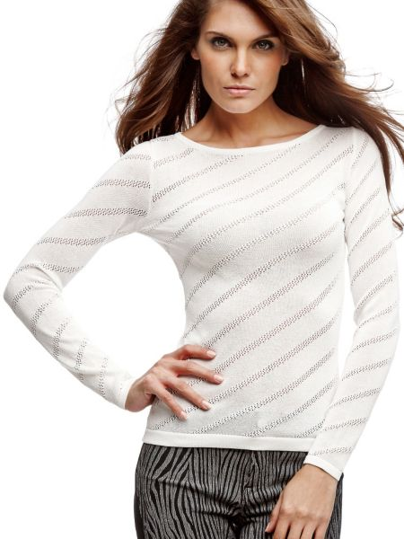 Pull marciano a rayures