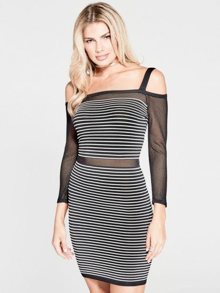 Kleid Marciano Netzstoff - Guess