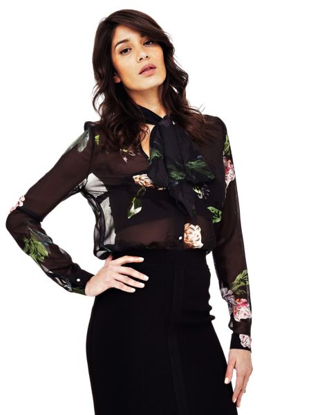 Bluse Marciano Blumen - Guess