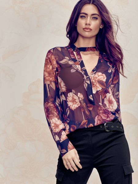 Bluse Marciano Blumenprint - Guess