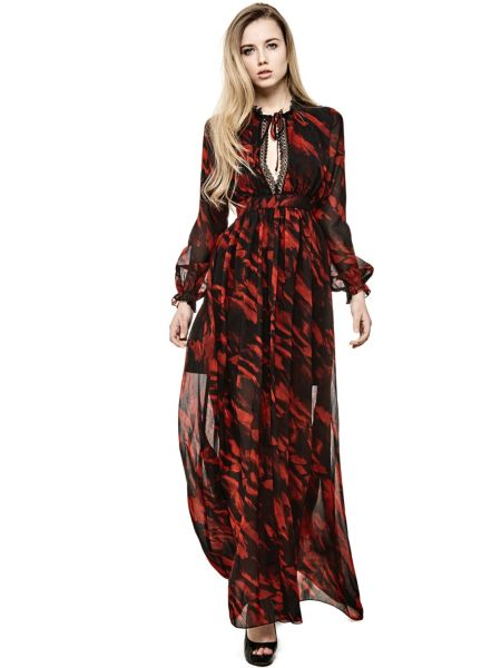 Kleid Marciano Allover-Print - Guess