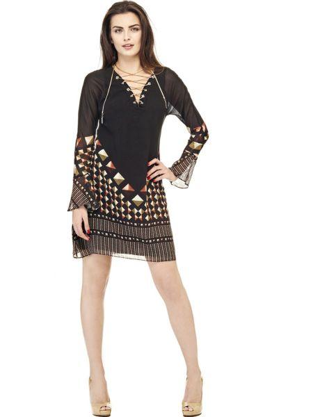 Kleid Marciano Geometrischer Print - Guess