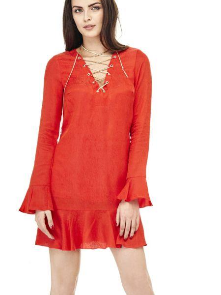 Kleid Marciano Ausschnitt Bänder - Guess