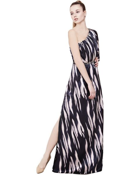One-Shoulder-Kleid Marciano | Bekleidung > Kleider > One Shoulder-Kleider | Mehrfarbig -  weiß | Guess