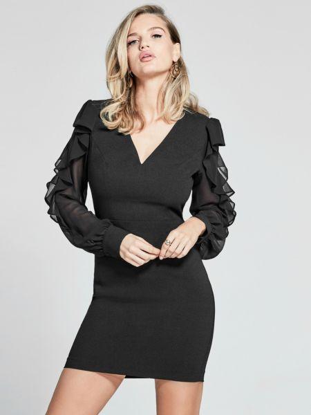 Kleid Marciano Ärmel Volant - Guess