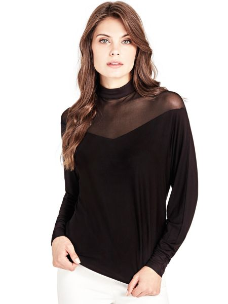 Bluse Marciano Transparenter Stoff - Guess