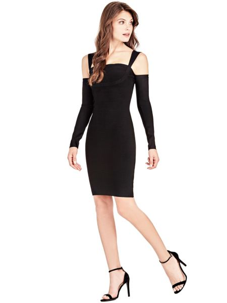 Kleid Marciano Schulterfrei - Guess