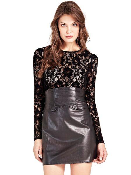 Kleid Marciano Beschichtete Optik Spitze - Guess