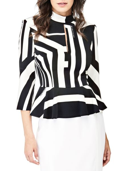 Bluse Marciano Geometrischer Print - Guess