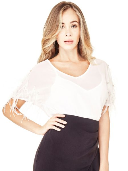 Bluse Marciano Federn - Guess