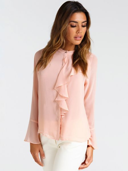 Bluse Marciano Volant Vorn - Guess