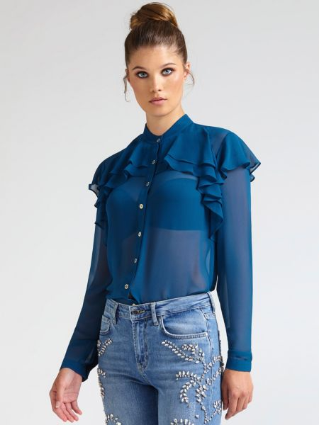 Bluse Marciano Volants - Guess