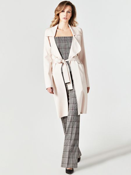 Cardigan Marciano Trenchcoat-Stil | Bekleidung > Mäntel > Trenchcoats | Weiß | Guess