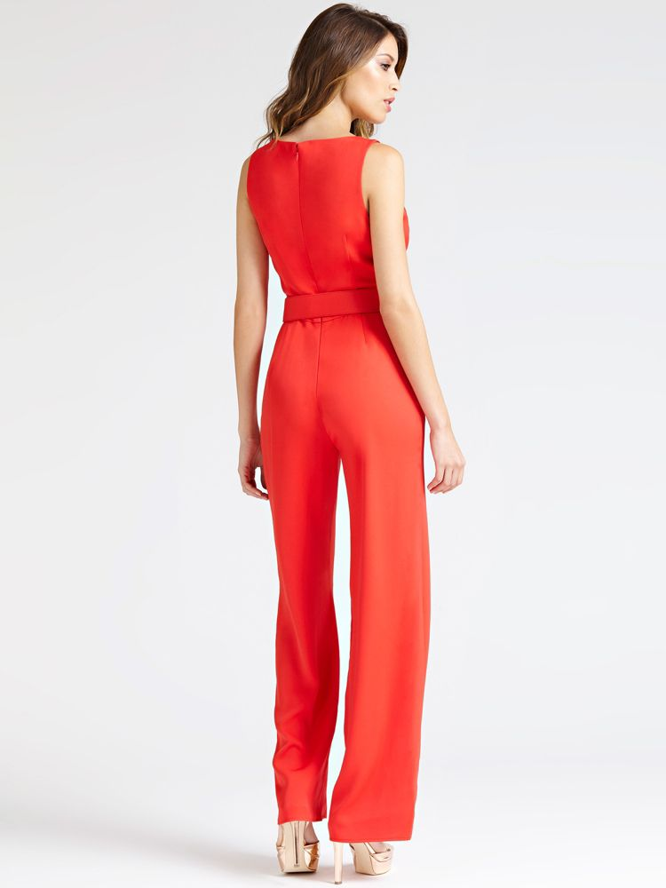 ba04eda73 Guess Marciano Belted Jumpsuit