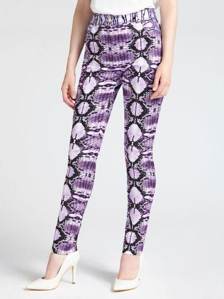 5-Pocket-Hose Marciano | Bekleidung > Hosen > 5-Pocket-Hosen | Mehrfarbig violett | Polyester - Polyamid - Elastan | Guess