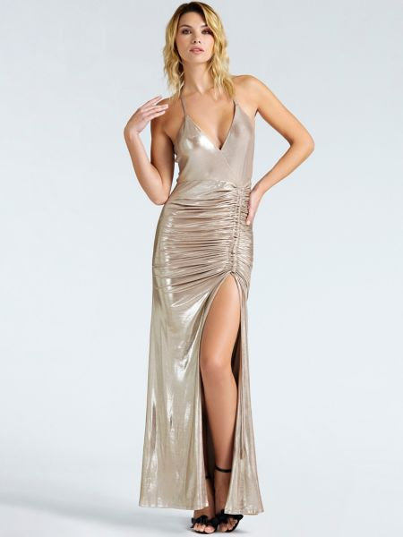 Guess - Langes Kleid Marciano Metallic - 1