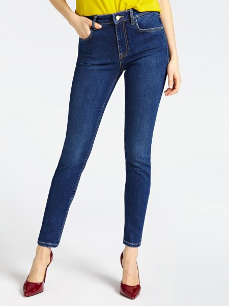 5-Pocket-Jeans Marciano Skinny   Bekleidung > Jeans > 5-Pocket-Jeans   Blau   Baumwolle - Viskose - Lycra   Marciano Guess