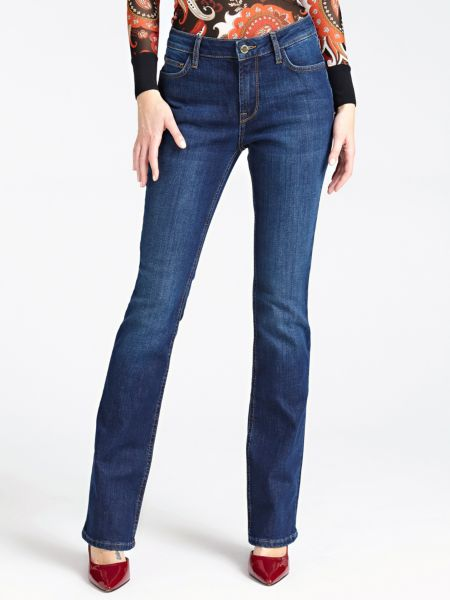 5-Pocket-Jeans Marciano Weiter Beinabschluss   Bekleidung > Jeans > 5-Pocket-Jeans   Blau   Baumwolle - Polyester   Marciano Guess