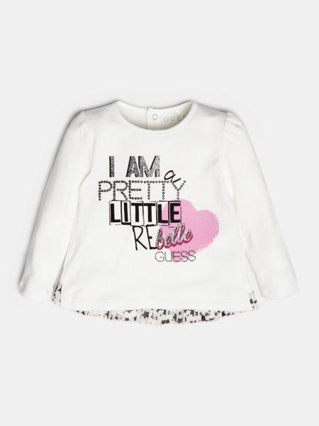 Imagen principal de producto de Camiseta Bajo Plisado - Guess