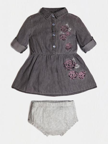 Imagen principal de producto de Vestido Vaquero Rosas - Guess