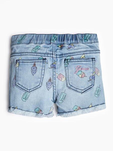 Guess - Jeansshorts Eis-Print - 2