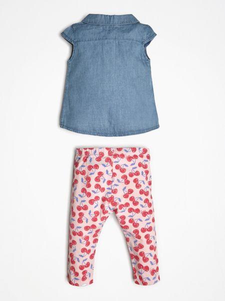 Guess - Set Jeansbluse Kirschen-Print - 2