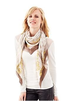 Keffieh Izabella avec chaînette
