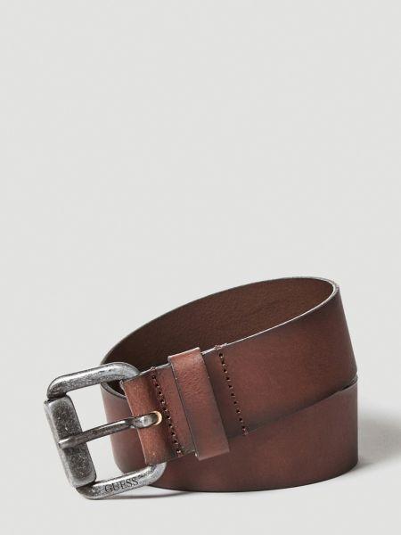 Imagen principal de producto de Cinturón Cuero Efecto Usado - Guess