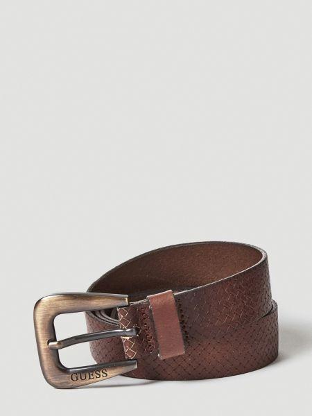 Imagen principal de producto de Cinturón Cuero Trenzado - Guess