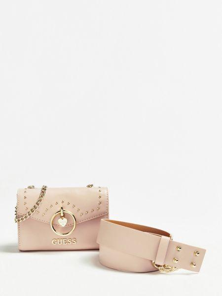 Gürteltasche Nieten | Accessoires > Portemonnaies > Sonstige Portemonnaies | Hellrose | Guess