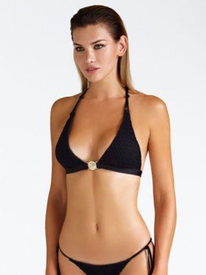 Bikini Triangolo Tessuto Traforato