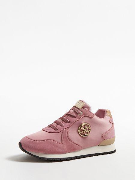 Sneaker Tessa 4G-Logo (27-34) | Schuhe > Sneaker > Sneaker | Rose | Leder | Guess