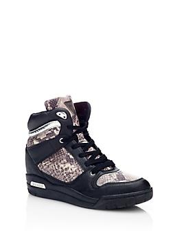 Jadrin Sneaker Imprimé Python