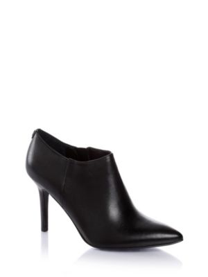 Adelk Leather Ankle Boots