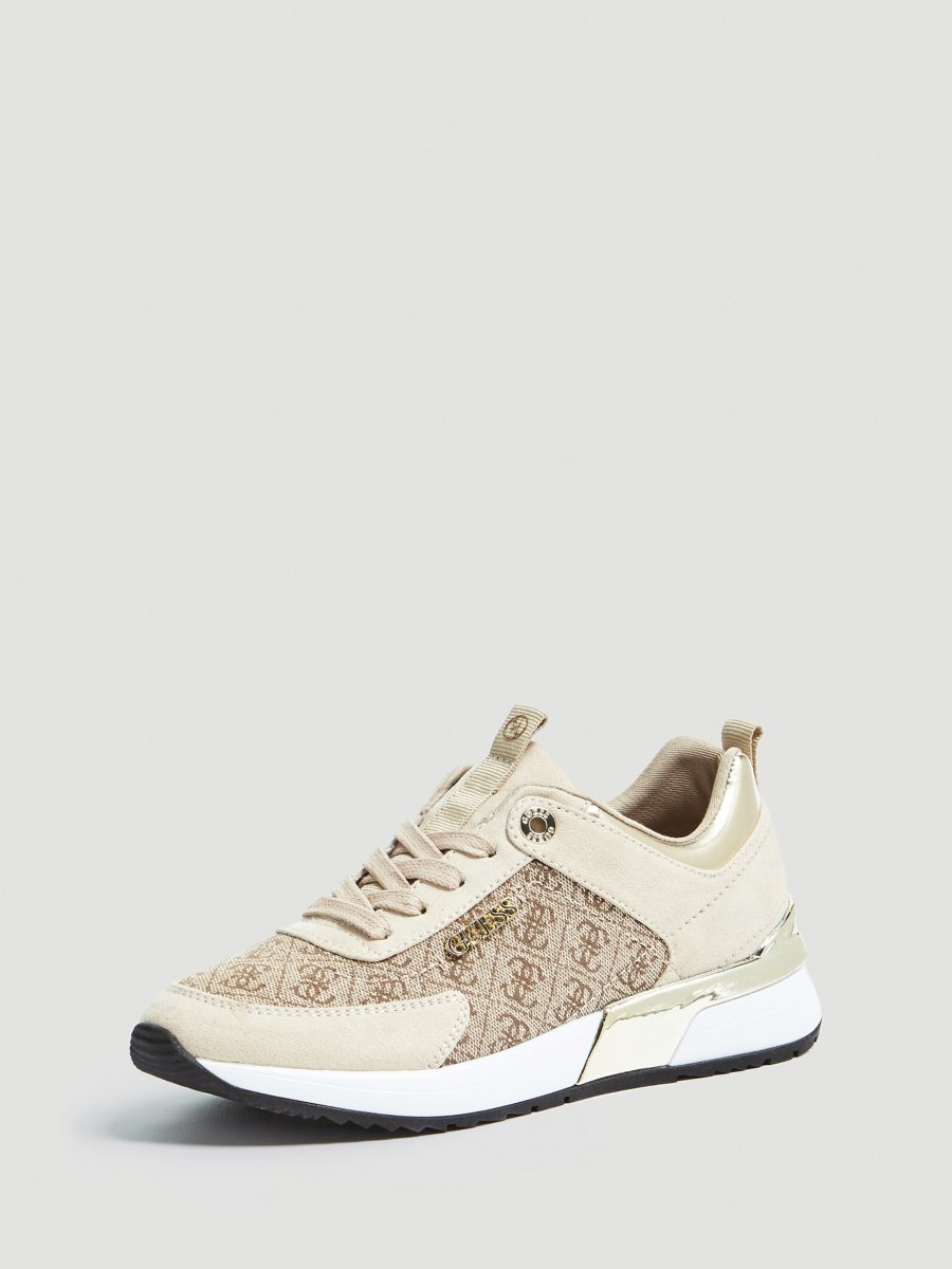 e5edab64 Guess Guess Marlyn Logo Print Sneaker at £85 | love the brands
