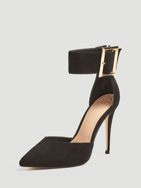 Pumps Ovie Echtes Leder | Schuhe > Pumps | Schwarz | Guess