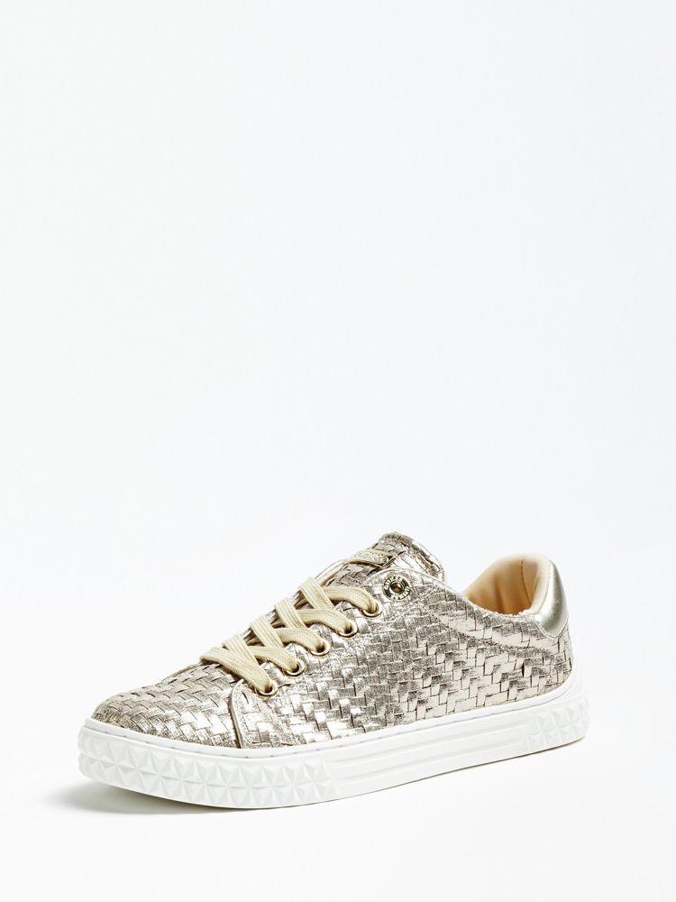 1252b8aa0f77 Guess Parlayna Glitter Sneaker