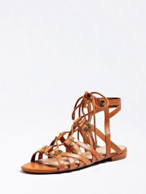 Sandalo Ramonda Vera Pelle