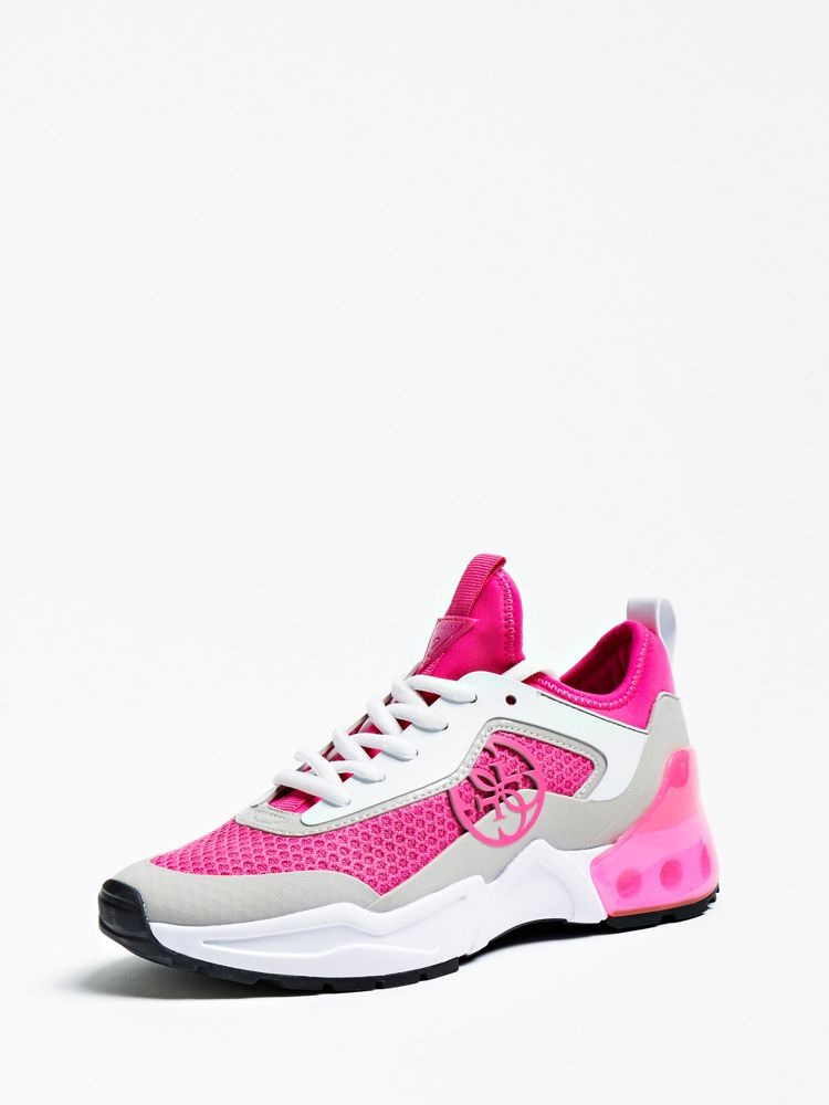 6ab4c1f2504e Guess Teckie Logo Running Shoe