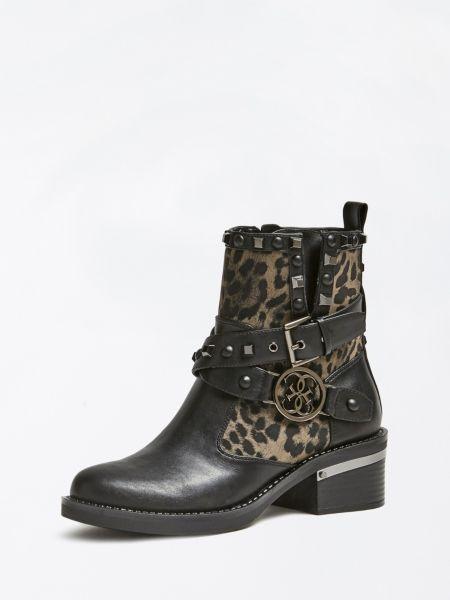 Stiefelette Fenix Nietenapplikation | Schuhe > Stiefeletten | Animalier | Guess