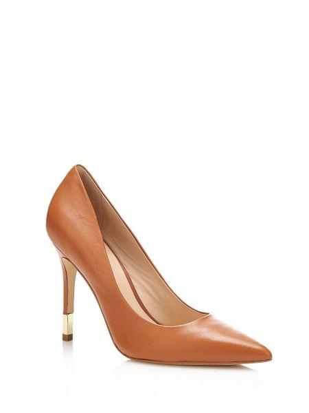 Chaussure bayan en cuir