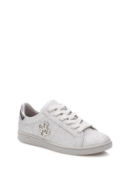 Sneaker Baysic Effetto Glitter