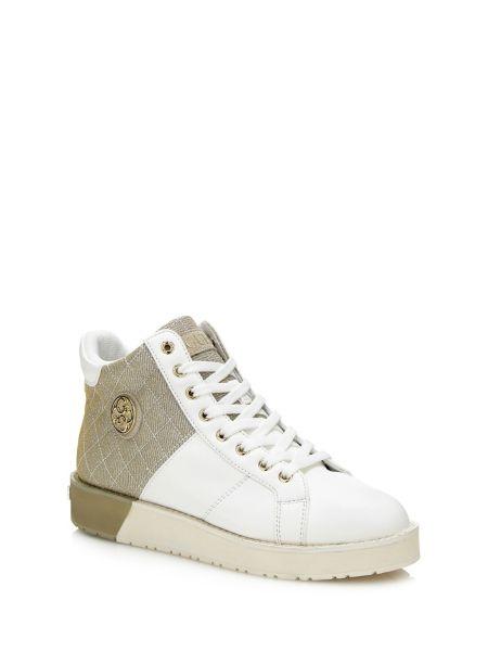 Sneaker Alta Debby Tessuto Contrasto