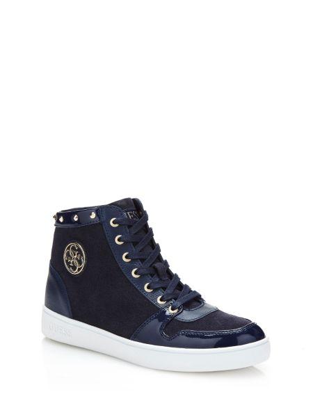Sneaker Alta Gensia In Pelle