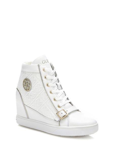 Sneaker Fiore Pelle